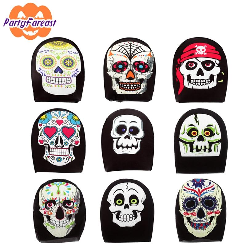 5 stücke Weihnachtsfeier Halloween Schädel Masken Skeleton Tier - Partyartikel und Dekoration
