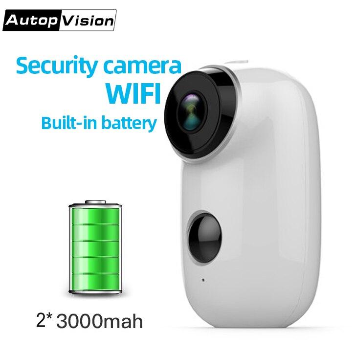 A3 caméra de sécurité intérieure/extérieure, système de Surveillance alimenté par batterie Rechargeable sans fil, moniteur de maison vidéo Cctv IP Hd WIFI