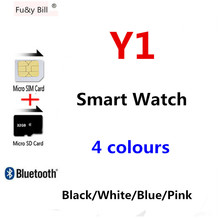 Fu&y Bill New Fashion Smart Watch Round Support Nano SIM &TF Card With Bluetooth 3.0 Men Women Business Smart Watch For Android