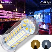E14 LED Lamp 220V E27 Led Corn Bulb 7W 12W 15W 18W 5730 230V Bombilla Led Candle Light 240V Replace Halogen For Home Decoration стоимость