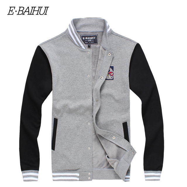 E-BAIHUI brand Winter mens  hoodies and sweatshirts Moleton Masculino Cotton  Suit Men COAT  Tracksuit Swag M-XXXL  WY004