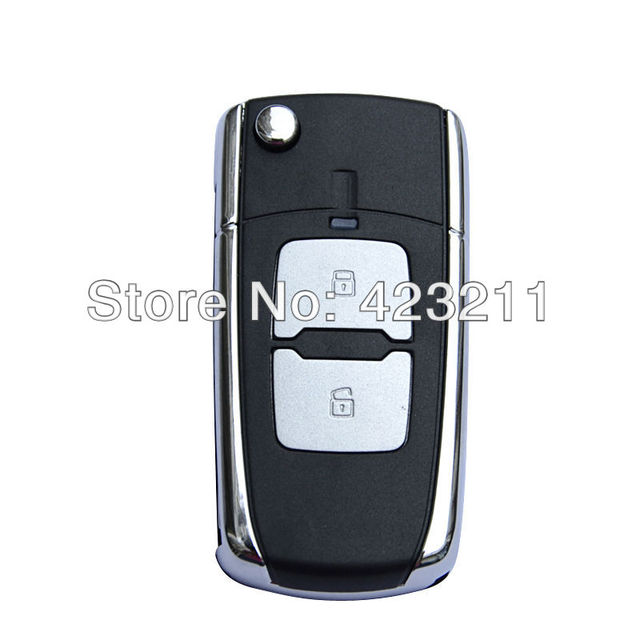 Folding Remote Key Shell Case For HYUNDAI 2008-2011 ELANTRA 2 Buttons FT0005