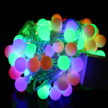 YINGTOUMAN 10m 80led String Lights AC200V Ball Lighting Праздничное украшение Лампа Фестиваль Рождественский свет