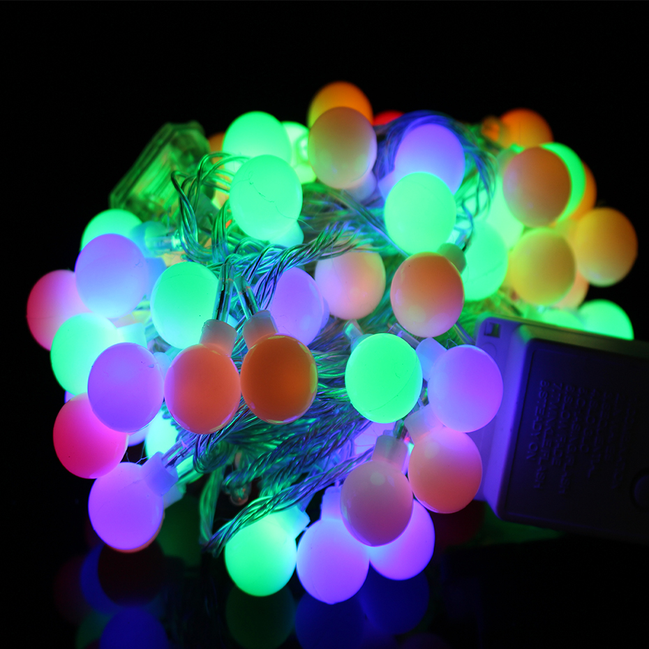 YINGTOUMAN 10m 80led String Lights AC200V Ball Lighting Holiday Decoration Lamp Festival Christmas Light