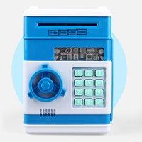 Kids Simulation ATM Mini Piggy Bank Piggy Bank Safe Password For Birthday Gift Toys