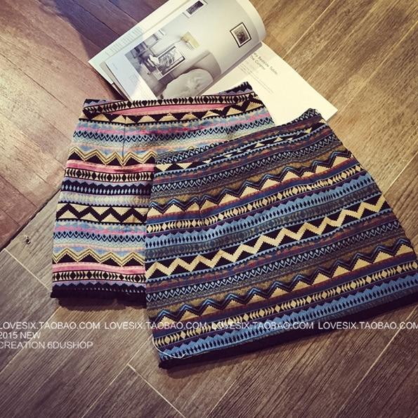 falda de punto patrones