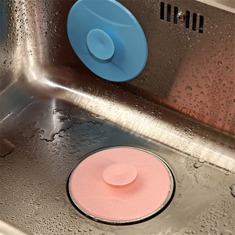 New Kitchen Tool Rubber Sink Stopper Drain Plug Insert The Drain Plug Kitchen Pots Chrome Ring