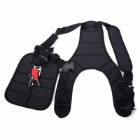 High Quality Strimmer Double Shoulder Harness Strap Brush Cutter Trimmer Harness Strap With Padded Belt Mayitr