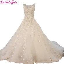 Luxury Lace Wedding Dress Designer Pearl Beading bridal vest