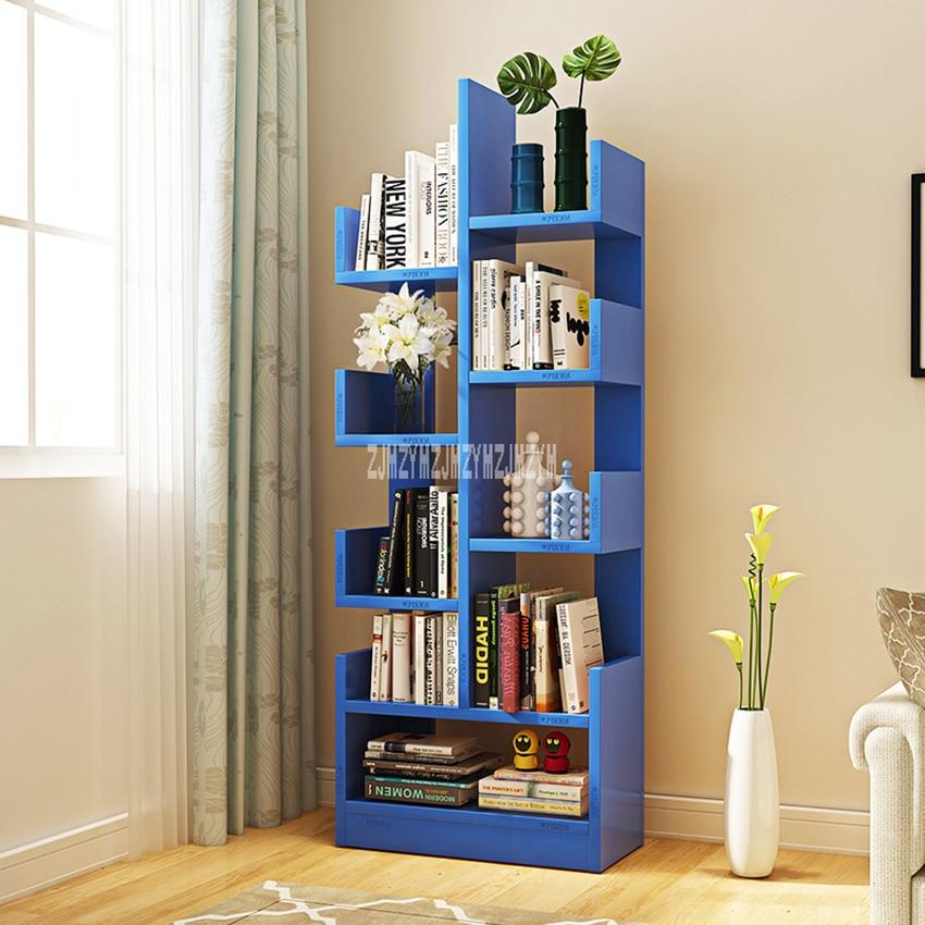 CW01 Modern Creative Land Wooden Bookshelf Bedroom Children Simple ...