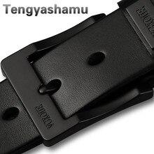 Man belt 2017 100 cowhide genuine leather belts for men brand Strap male fancy vintage jeans