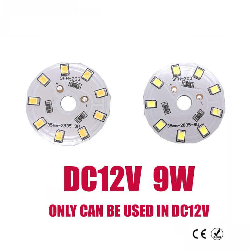 Novo dc12v led chip de lâmpada 3 w 6 9 12 15 cob led lâmpada dc12v inteligente ic driver branco quente frio led projector chip