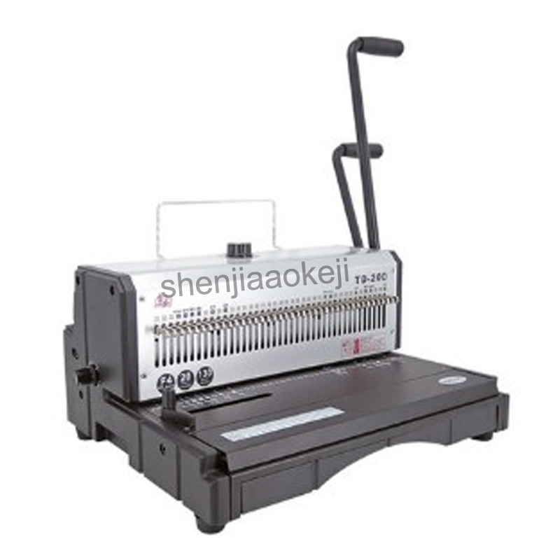 Heavy duty Wire binding machine Office Machine 40 Holes Binder Manual Binder 20sheets punch machine 130