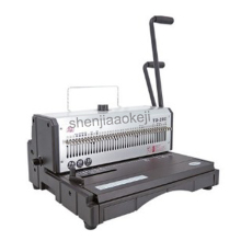 Heavy-duty Wire binding machine Office Machine 40 Holes Binder Manual Binder 20sheets punch machine 130 sheets binding