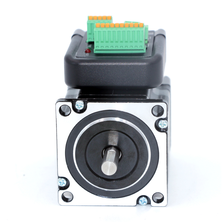 NEMA23 1Nm 142oz.in Integrated Closed Loop Stepper motor with driver 36VDC JMC iHSS57-36-10 3 phase nema42 20nm 2830ozf in closed loop stepper servo motor driver kit jmc 110j12190ec 1000 3hss2208h