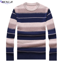 100% pure wool woollen sweater, men's heavy sweater, autumn/winter new casual thermal sweater, high quality, free shipping