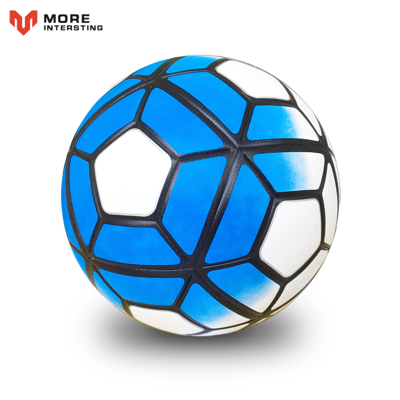 Size 5 Size 4 Seamless PU Football Ball Anti-slip Granules Soccer Ball High Quality For Game Match Training Youth Kids 4