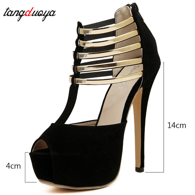 Sexy High Heels Women Shoes Platform Peep Toe Wedding Shoes Women Pumps Black Red Shoes Woman High Heel Shoes 2019 tacones mujer