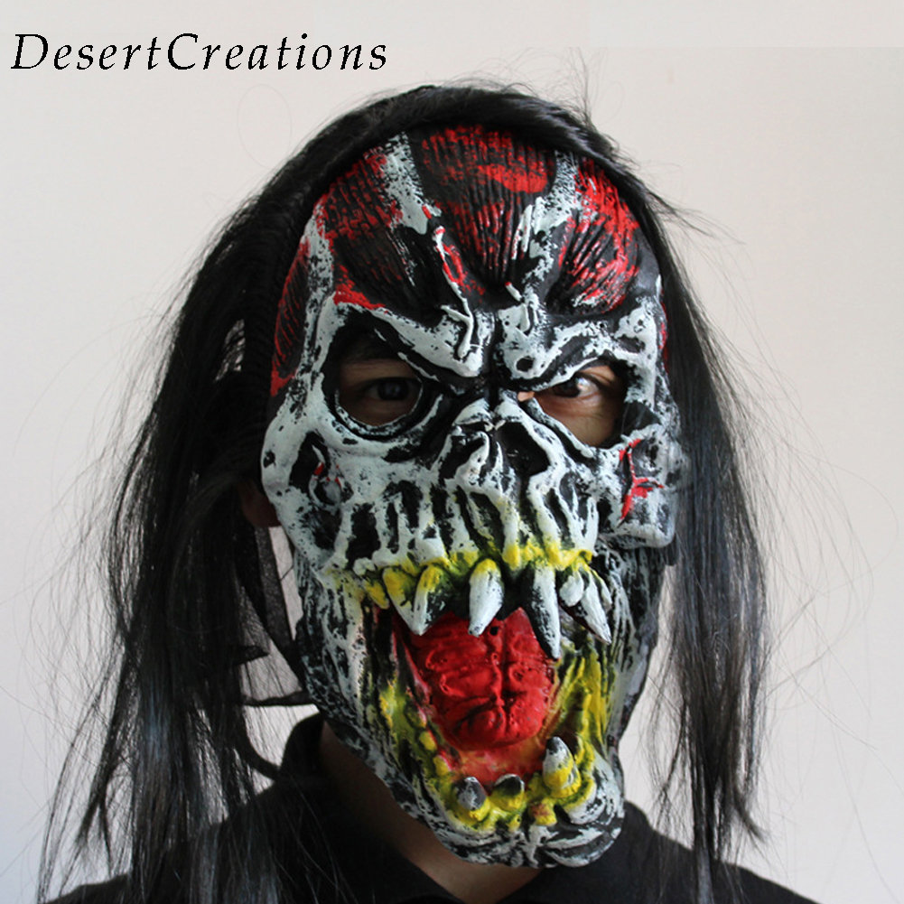 halloween joker clown costume mask creepy evil scary halloween clown