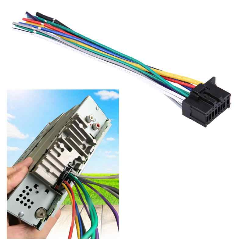 Detail Feedback Questions About Car Radio Stereo Wire Wiring Harness