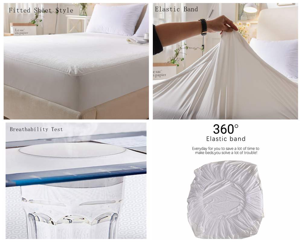 Terry Cloth waterproof mattress cover