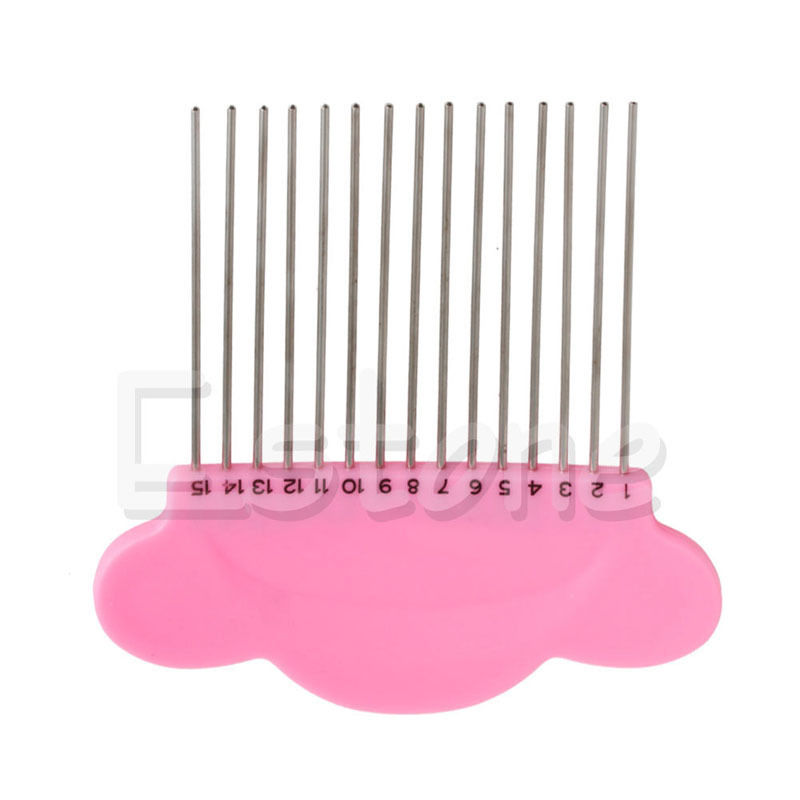 Y142 New DIY Cloud Paper Quilling Comb Plastic Holder Origami Carding Art  Craft Tool Free Shipping-in Sewing Tools & Accessory from Home & Garden on