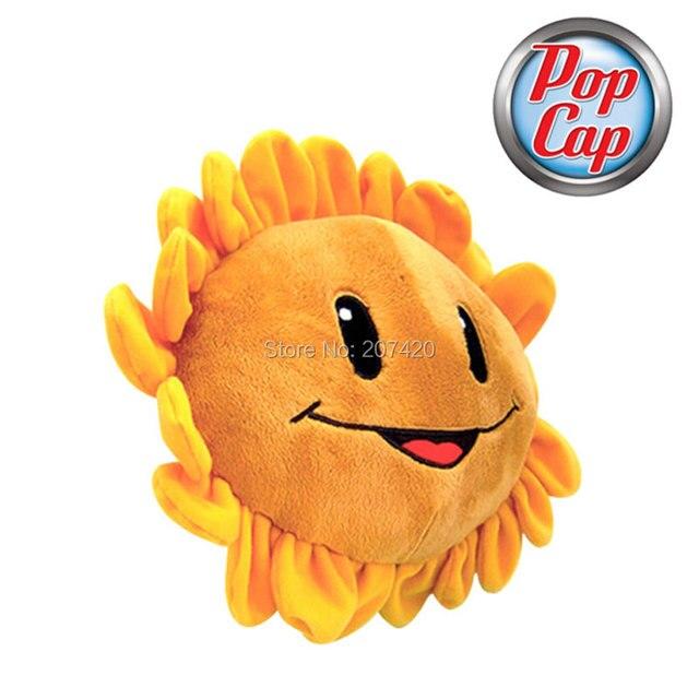 O produto da estrela 22 polegada 55 cm linda planta Vs Zombies PopCap girassol Plush Sushion travesseiro, 1 unidades/pacote