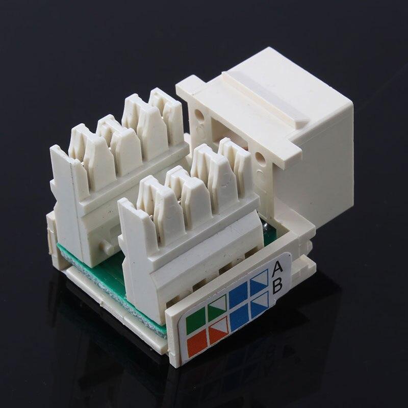 Cat5e RJ45 110 Punch Down Keystone Network Ethernet Jack Port #53045  ривелотэ а книга блаженств