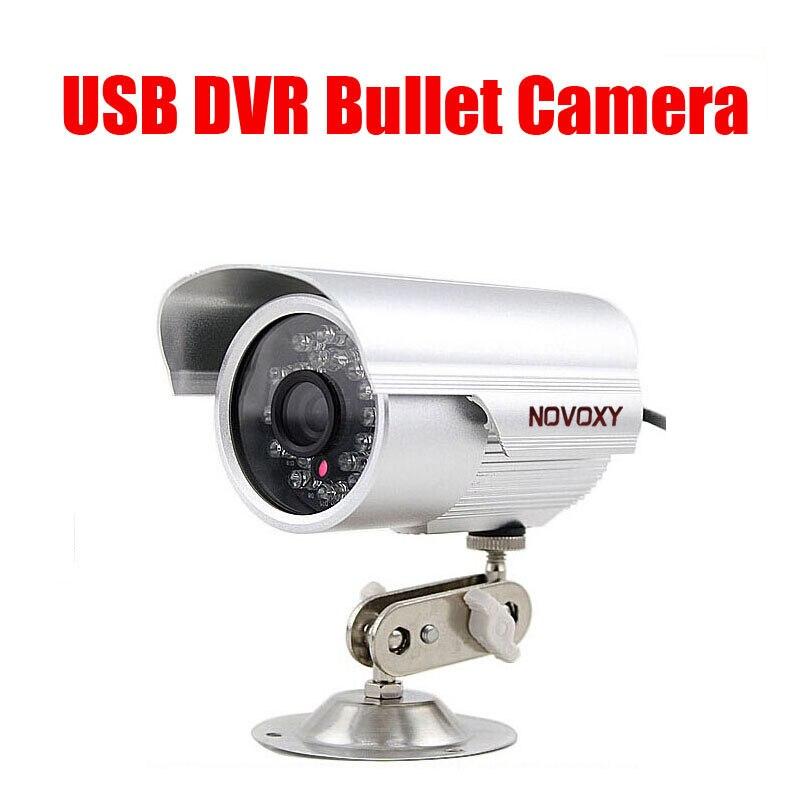 NOVOXY USB camera 24 pcs led indoor Video recorder Infrared Night Vision TF Card DVR Camera security