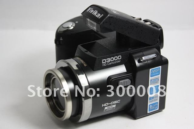 """Free Shipping 2012 newest Camera slr  D3000 with 16.0MP 3.0"""",support to 32GB sd card,standad,wide angle and long distance lens"""