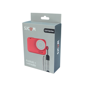 Image 5 - Original SJCAM Silicone Sleeve + Adjustable Lanyard Protective Case for SJ9Series / SJ9 Strike / SJ9 Max Sports Action Camera