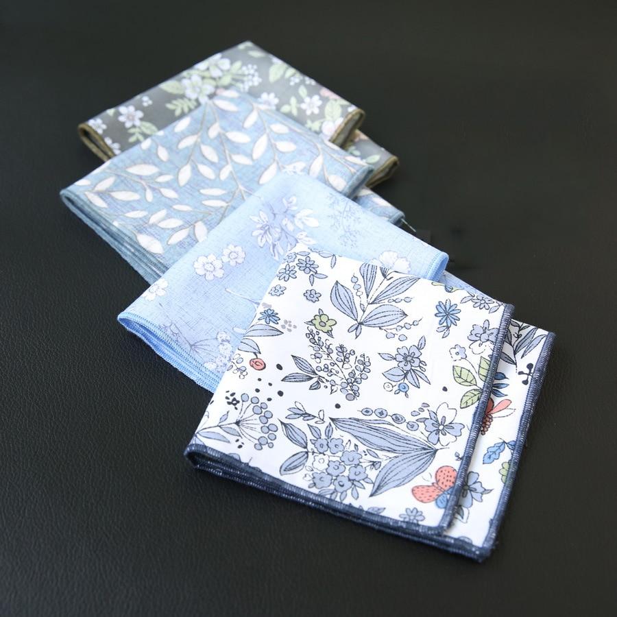 Men/'s Pocket Squares Blue Black White Checkered Party Tuxedo Handkerchief Hanky