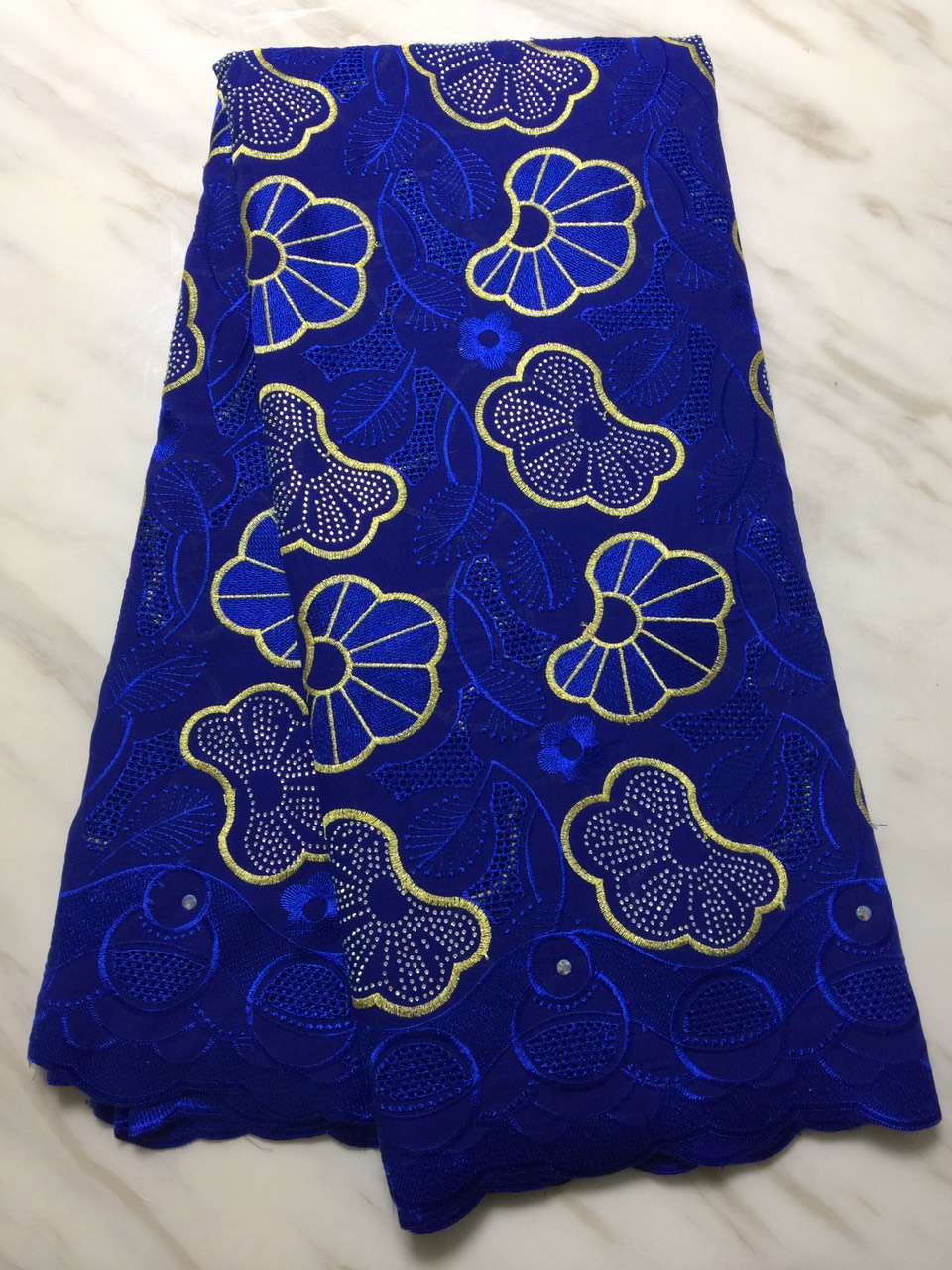 African Lace Fabric 2018 High Quality Swiss Voile Lace In Switzerland African Lace Materials African Dresses For Women (16L-12