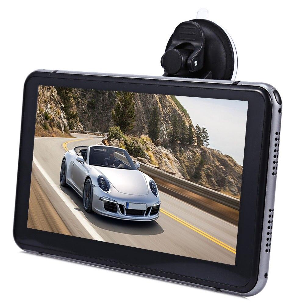 Nouveau 7 pouce Voiture DVR Caméra Enregistreur Android Écran Tactile Full HD 1080 P Multi-Lecteur multimédia avec GPS Navigation Cartes gratuites