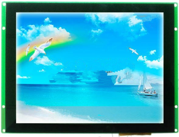 DMT10768T080_07WTZ1 8-inch industrial serial screen touch screen LCD screen IPC 5 7 inch lcd compatible kcs057qv1aj g23 industrial screen lcd screen kcs057qv1aj g20 kcs057qv1aj g32