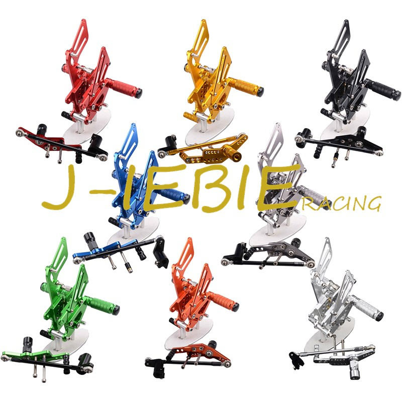 CNC Racing Rearset Adjustable Rear Sets Foot pegs Fit For  Honda CBR1000RR 2008 2009 2010 2011 2012 2013 2014 2015 front rider foot pegs brackets for honda cbr1000rr cbr 1000 cbr1000 rr 2008 2009 2010 2011 2012 2013 2014 2015 black