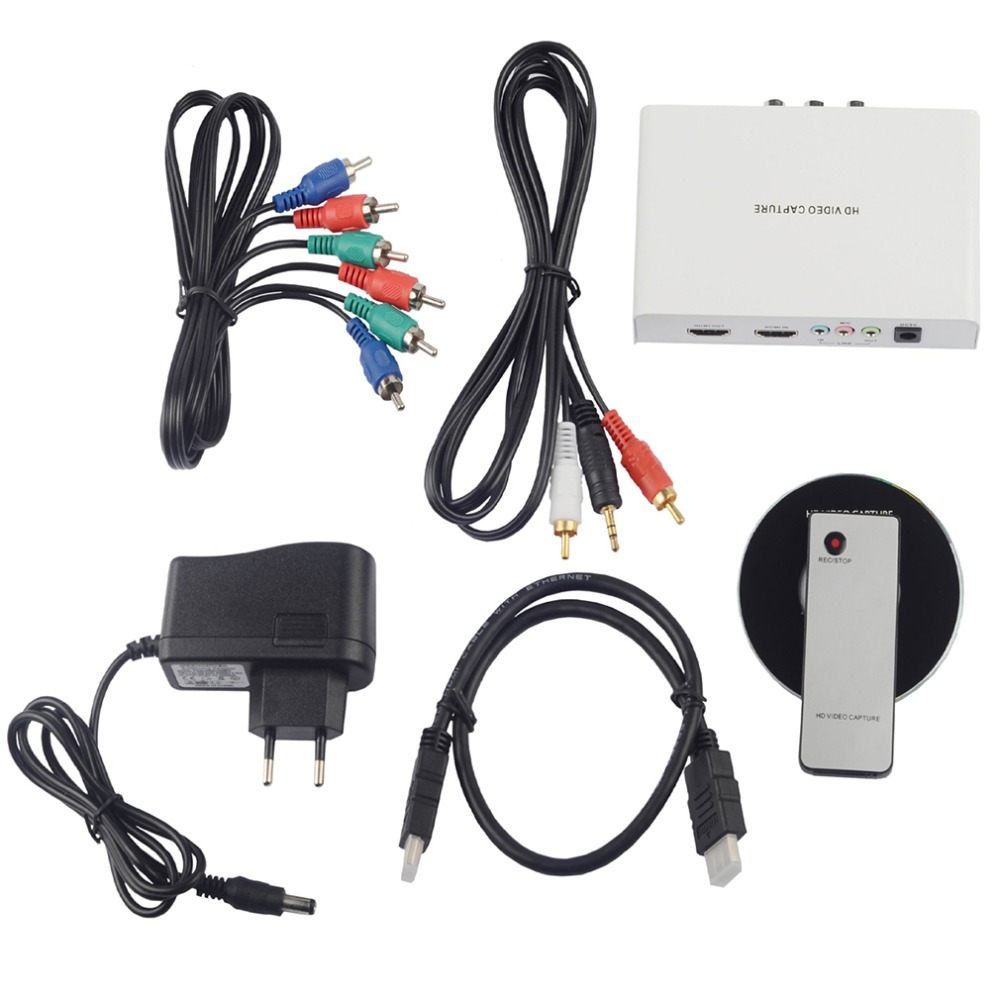 цена на REL011 HDMI Game Capture 1080P HD Video Capture Remote Controller Support HDCP Protocol HDMI Input For Windows 32/64 Bit EU Plug
