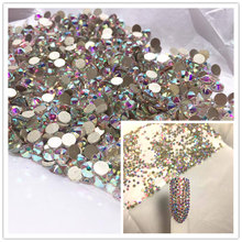 Blingstone Crystals gems stones rhinestone non hotfix gold flat back for  nail art and design CRYSTAL a0a4fa233512