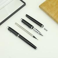 Ücretsiz Kargo Yüksek Kalite Lüks Klasik İş Tükenmez Kalem ile roller topu kalem seti kalem kutusu ile paketi