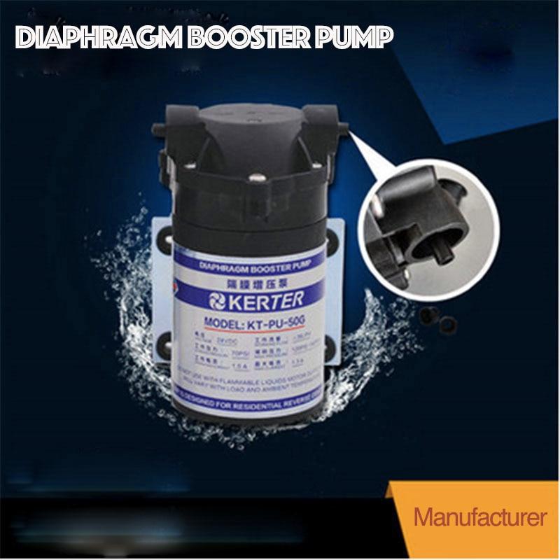9.19Food Grade Water Machine Dedicated 50G DC24V Water Purifier Booster Pumps9.19Food Grade Water Machine Dedicated 50G DC24V Water Purifier Booster Pumps