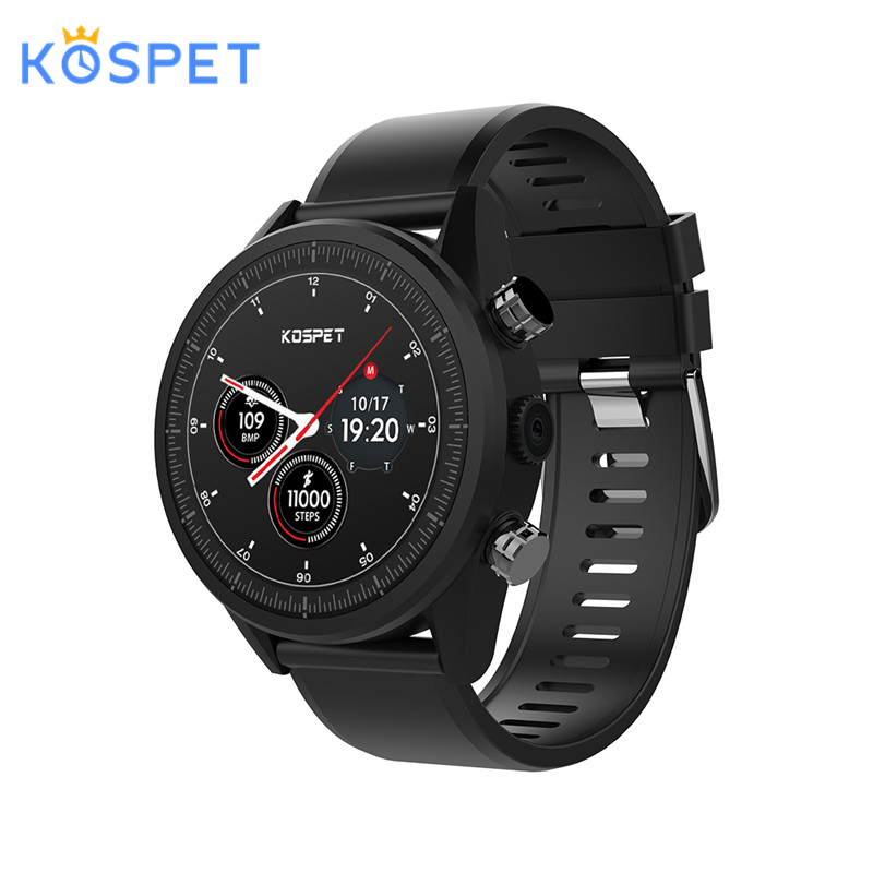 Kospet Hope Android 7.1 Smartwatch 3 GB + 32 GB double 4G 1.39