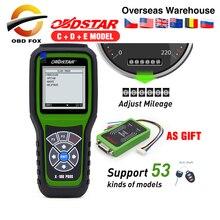 OBDStar X100 Pro Auto Key Programmer X100 PROS C + D + E IMMO + วัดระยะทาง + OBD X100 Pros พร้อม Eeprom เช่นของขวัญวัดระยะทางเครื่องมือ