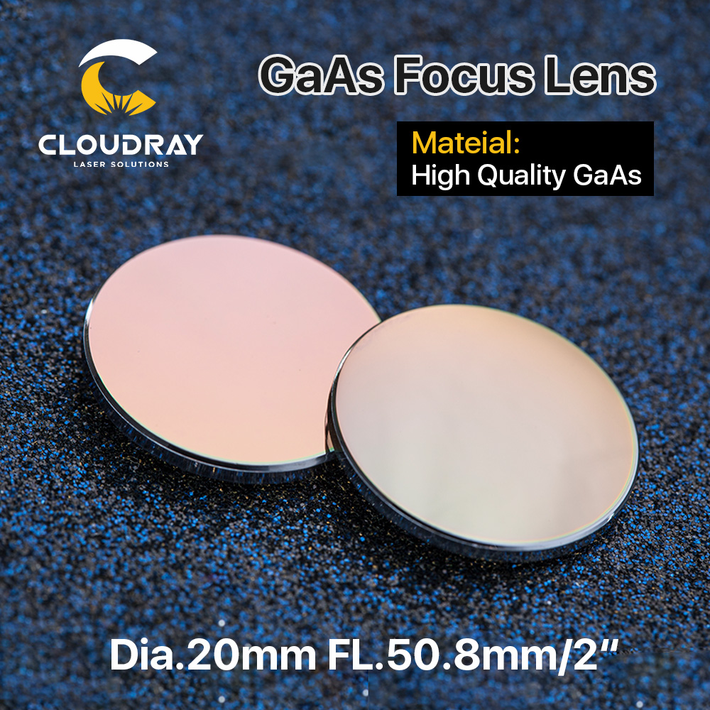 Cloudray GaAs Focus Lens Dia. 19,05 / 20 mm FL 50,8 63,5 101,6 mm - Przyrządy pomiarowe - Zdjęcie 2