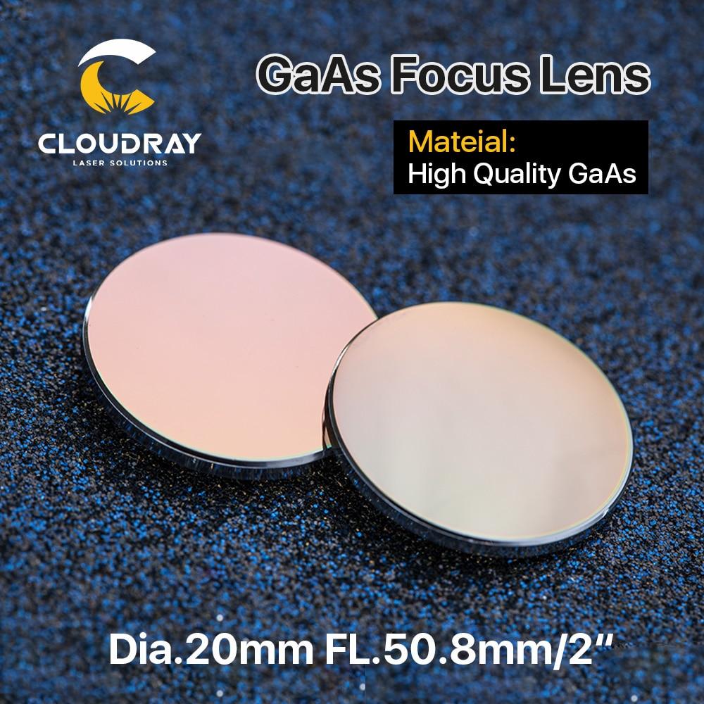 Cloudray GaAs Focus Lens Dia. 19.05 / 20mm FL 50.8 63.5 101.6mm 1.5-4 - Strumenti di misura - Fotografia 2