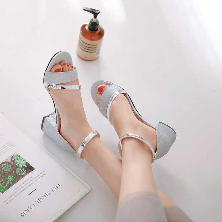 Big Size 1 high heels sandals women