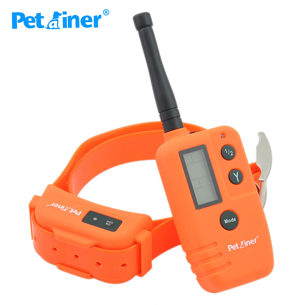 Petrainer 910T Rechargeable and Remote Hunting Dog Beeper collar with dog shock Collar