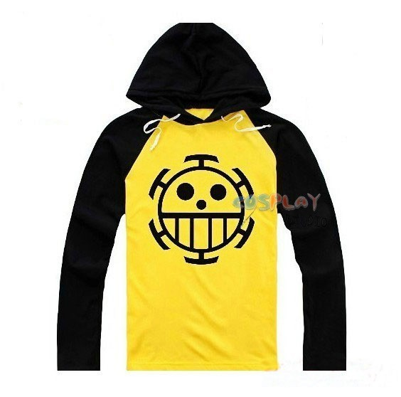 Anime Cosplay One Piece Costume Trafalgar Law Hoodies