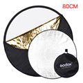 Godox 5 in 1 Portable Collapsible Round 80cm Camera Lighting Photo Disc Reflector Diffuser Kit Carrying Case