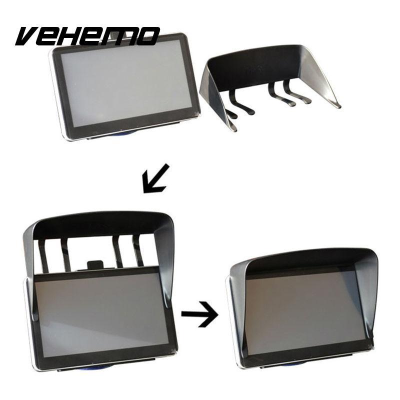 Vehemo 5 Inch Auto Car GPS Navigator Sun Shade Sunshade Visor Anti Glare Universal майка борцовка print bar glare of sun