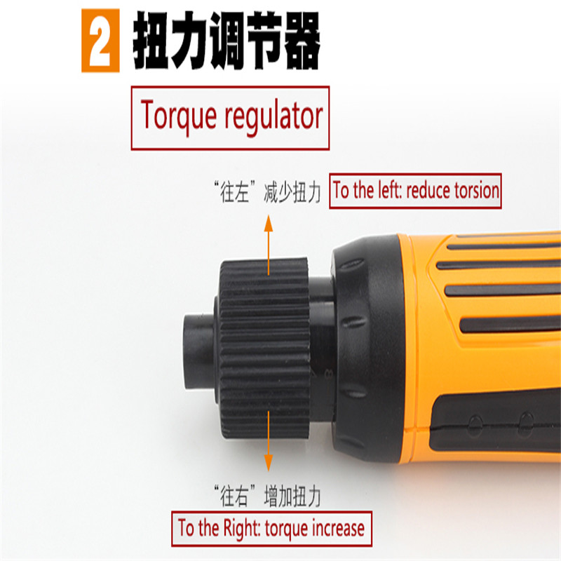 TGK-DC6228 emi-automatic electric Screwdriver  Handheld electric screwdriver 5mm 18~36 Working Voltage
